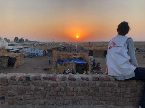 "For refugees in Hamdayet, Sudan, ""everyone is hungry, and everyone is tired"""