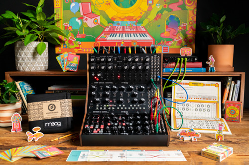 Moog Music Adds a New Chapter to the Moog Sound Studio Experience