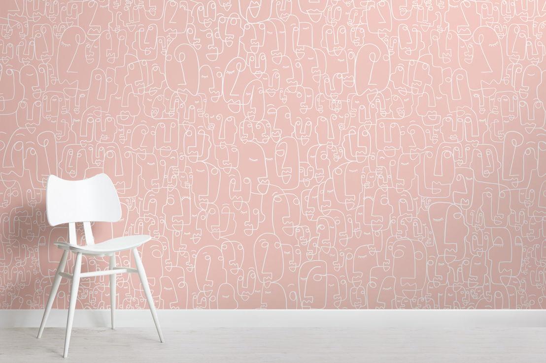 Scribble (Dusty Pink)