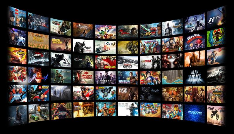NVIDIA GeForce Now Games schwarz