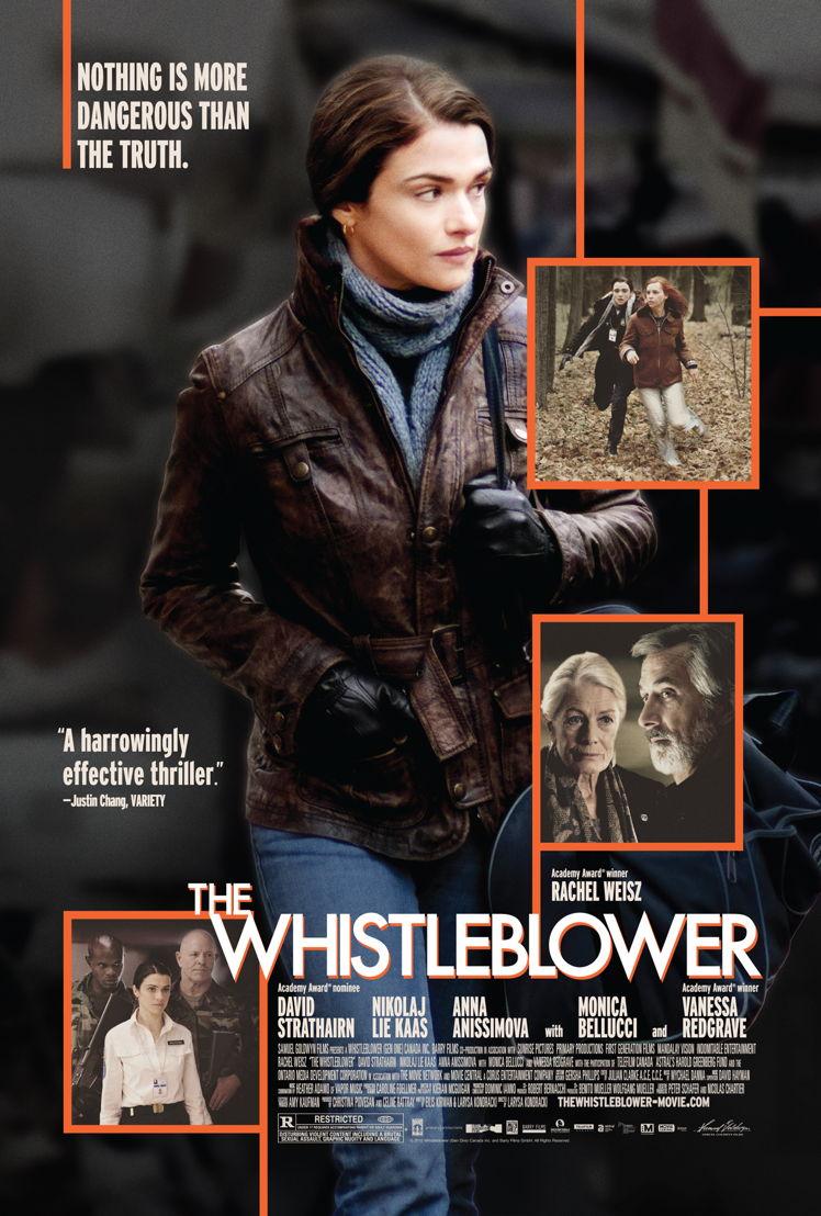 Affiche The Whistleblower