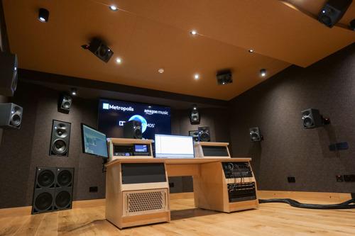 Neumann Monitors For Immersive Audio At Metropolis Studios / London