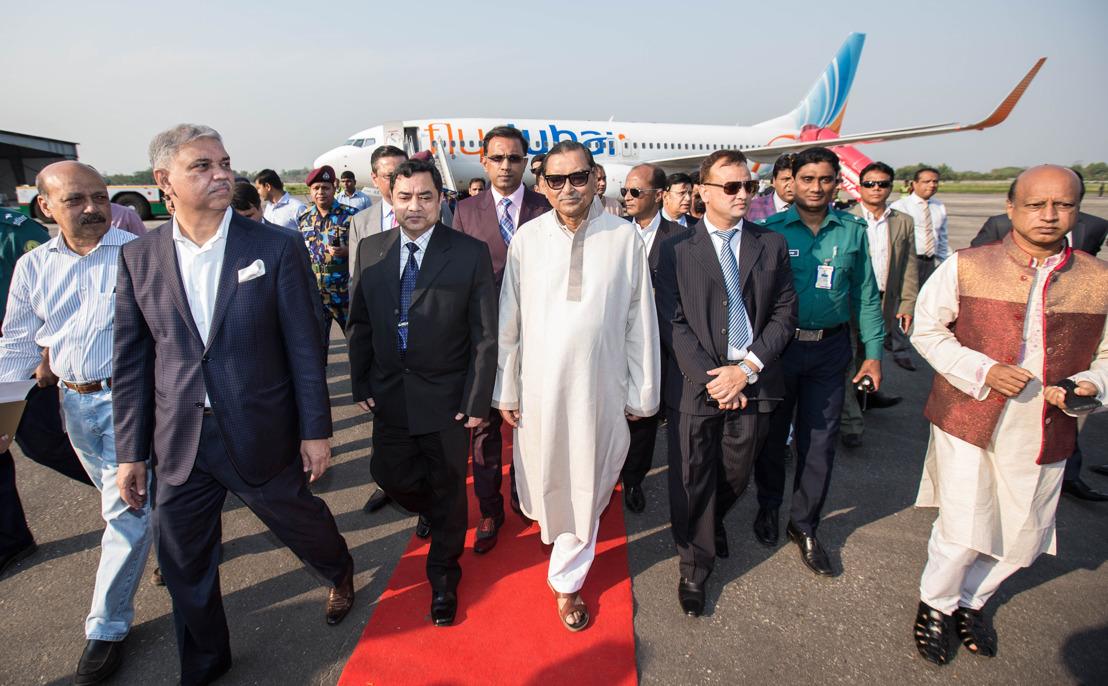 Силхет приветствует авиакомпанию flydubai