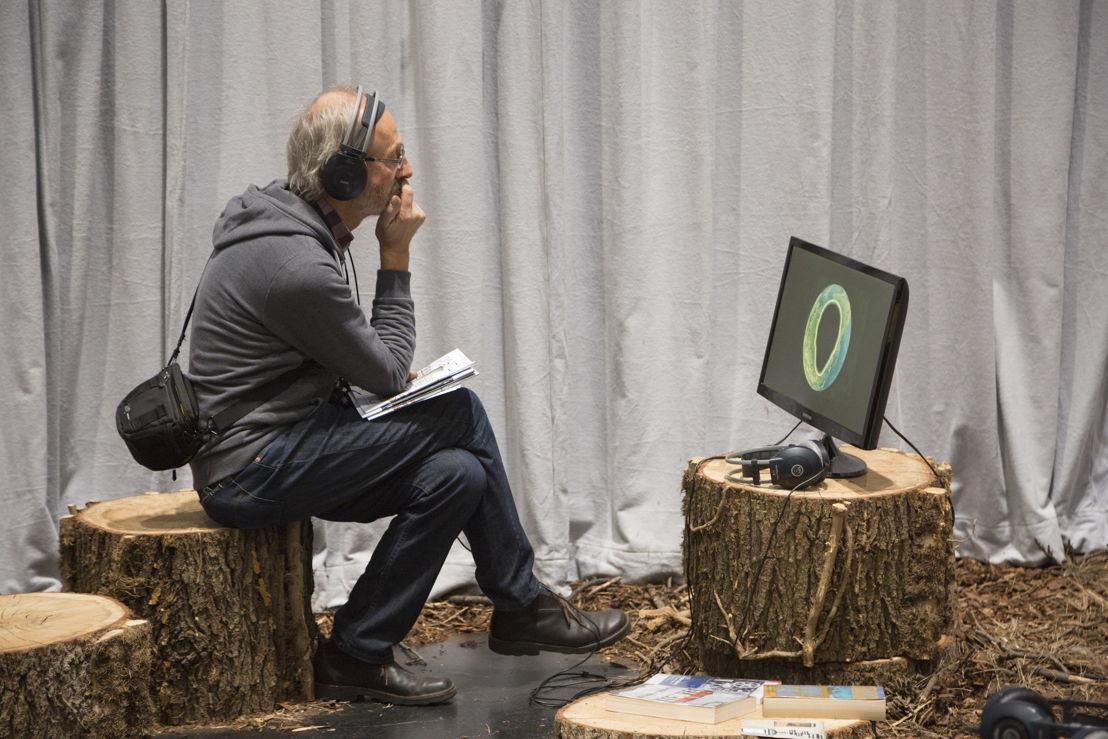 World Brain<br/>Stéphane Degoutin y Gwenola Wagon<br/>Imagen de Anatole Serexhe cortesía de ZKM | Center for Art and Media Karlsruhe