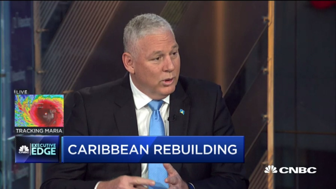 Caribbean Hurricanes: OECS Chairman Prime Minister Hon. Allen Chastanet CNBC Interview