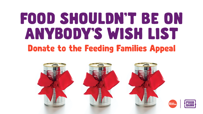 FEEDING FAMILIES APPEAL SUPPORTED BY ABC RADIO MELBOURNE