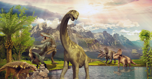 Dinosaurs lived in greenhouse climate with hot summers