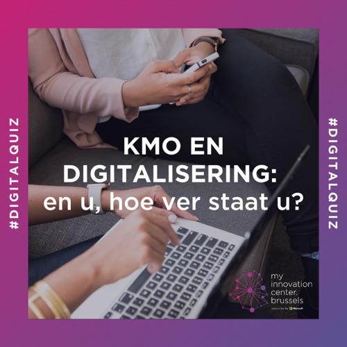 mic.brussels lanceert quiz voor Brusselse kmo's om digitalisering te versterken