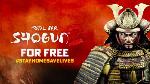 TOTAL WAR: SHOGUN II FREE-TO-KEEP NEXT WEEK