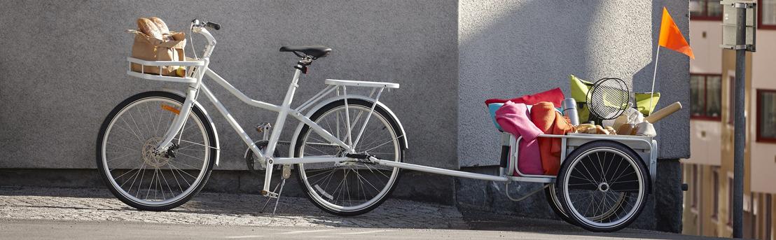 IKEA lanceert met SLADDA awardwinnende design fiets