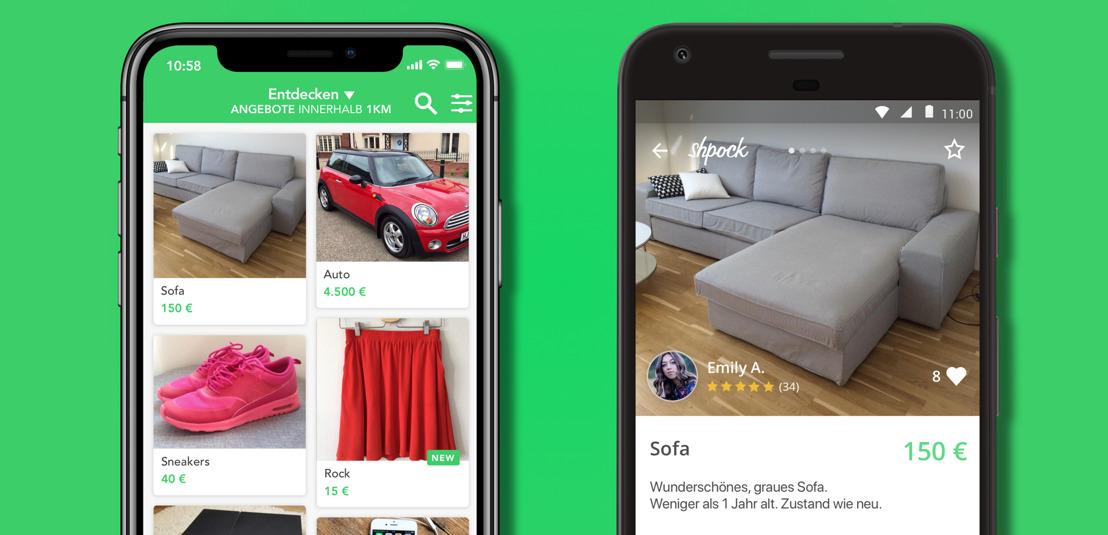 6 Jahre Shpock: Marktplatz-App jubelt über 170 Millionen gehandelte Produkte