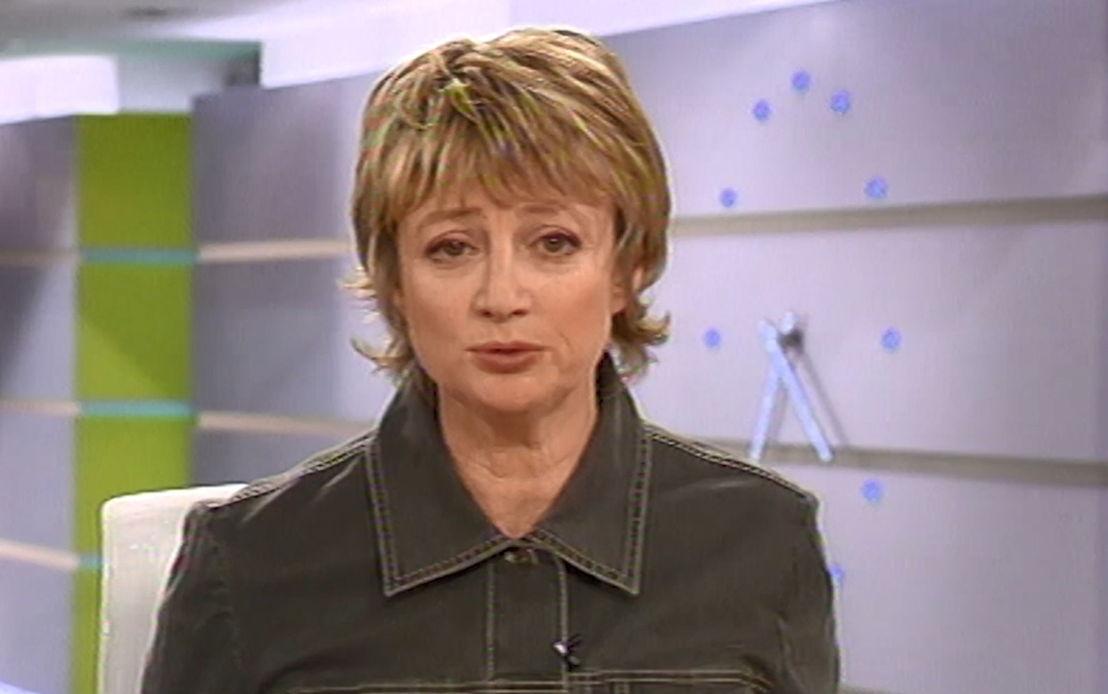 2003: Martine Tanghe presenteert Het Journaal