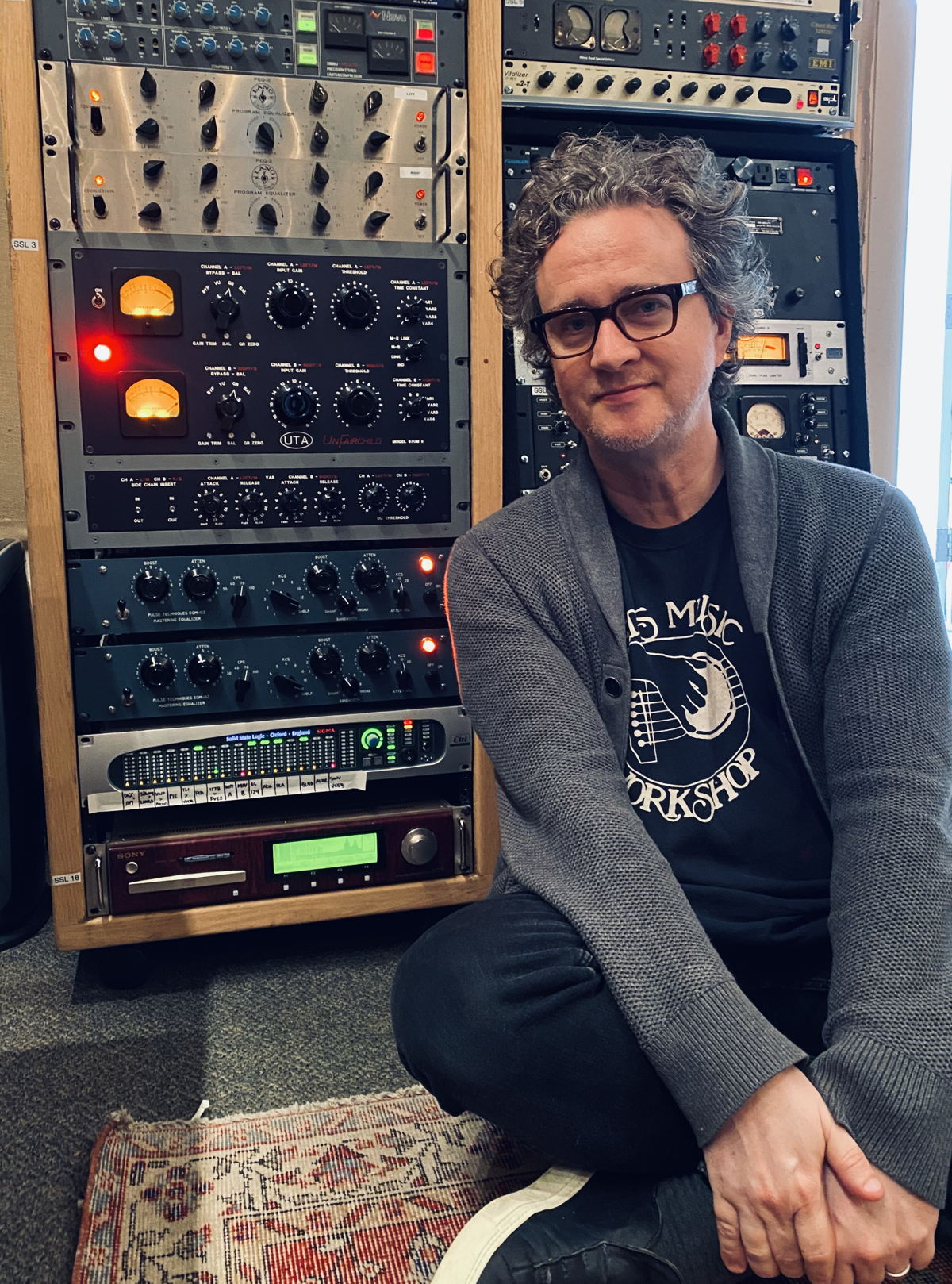 Greg Wells, a Grammy-winning musician, songwriter and record producer, recently invested in an SSL Sigma Delta summing engine, and hasn