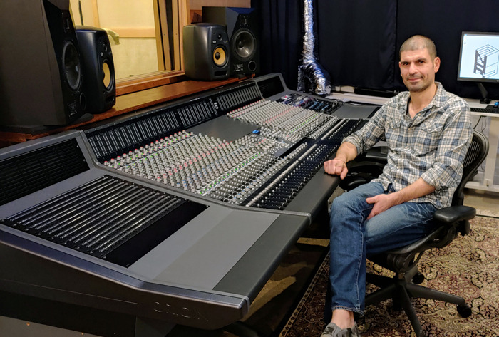 New Record Studios Brings its Facility into the Future with Solid State Logic ORIGIN