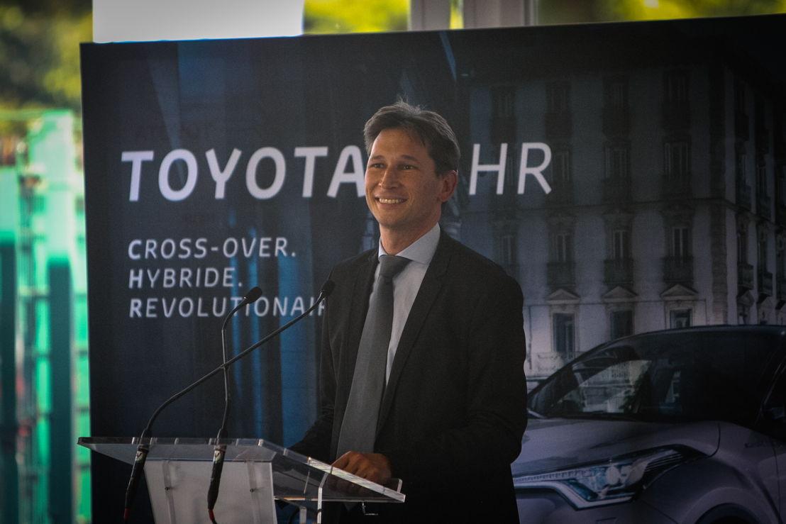 Timothy Manuel, Managing Director Toyota&Lexus Belux