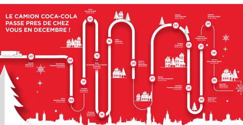 Le camion de Noël Coca-Cola et le spot légendaire « Holidays are coming » lancent la période de Noël