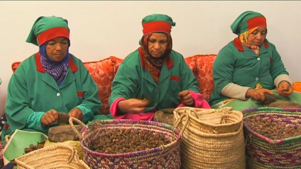 Karrewiet in Marokko - aflevering 6 (10.4): Vrouwen met argonnoten - (c) VRT