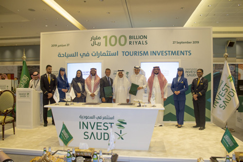 The Red Sea Development Company signs Memorandum of Understanding with Saudia at Exhibition hosted by Saudi Commission for Tourism and National Heritage