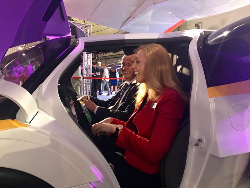 Margaret Basic (Boeing Horizonx) a Doug MacAndrew v AeroMobile