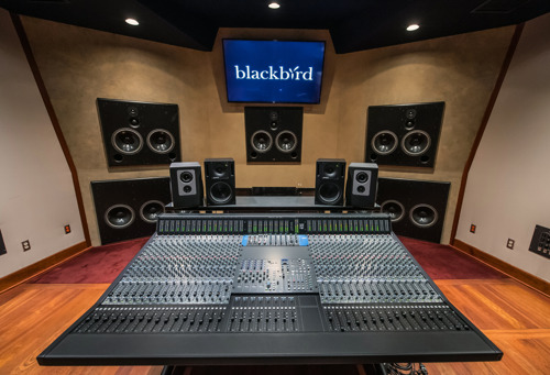Nashville's Blackbird Studio Completes Integration of Solid State Logic ORIGIN Analogue Console