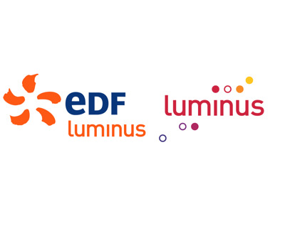 EDF Luminus press room Logo