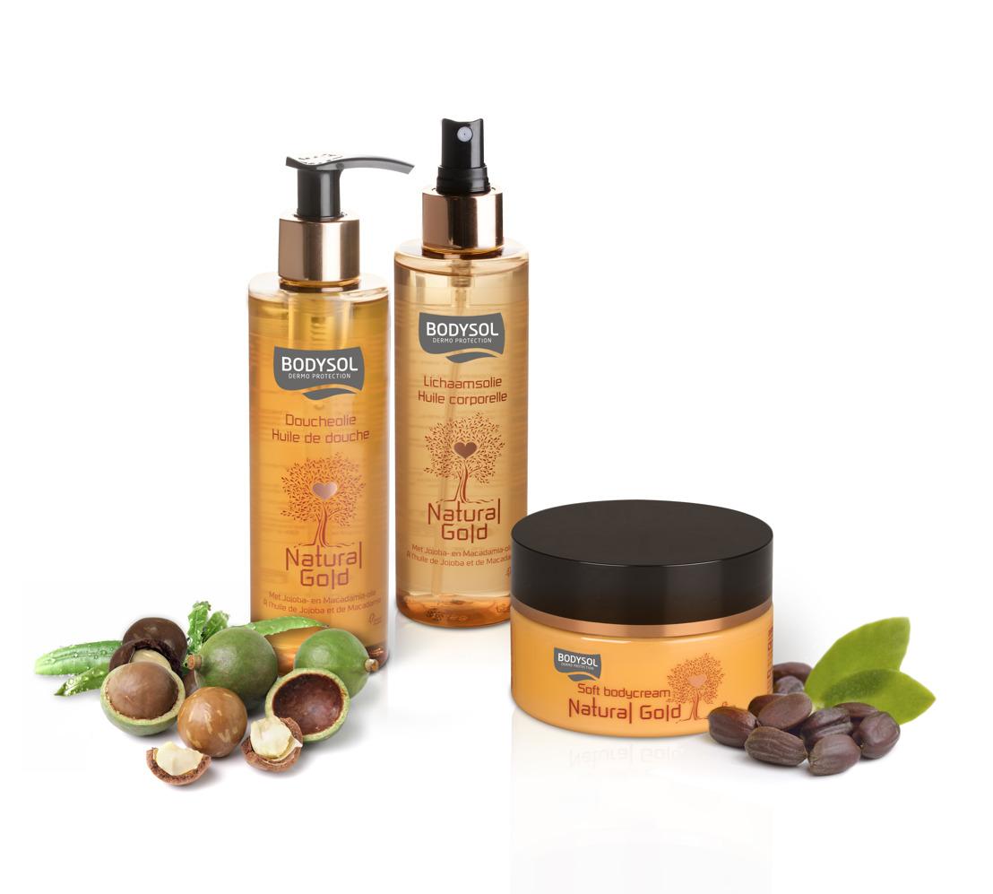 Bodysol lance une nouvelle gamme de produits qui sentent bon le soleil : Natural Gold.