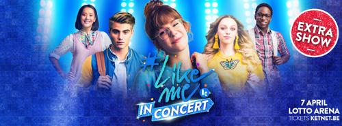Extra concert van #LikeMe