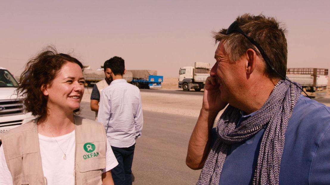 Rudi Vranckx in Erbil - (c) VRT