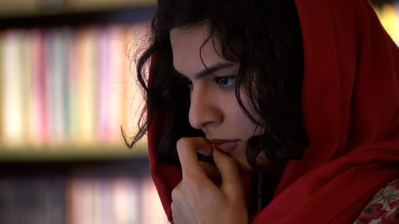 Young Iranian woman