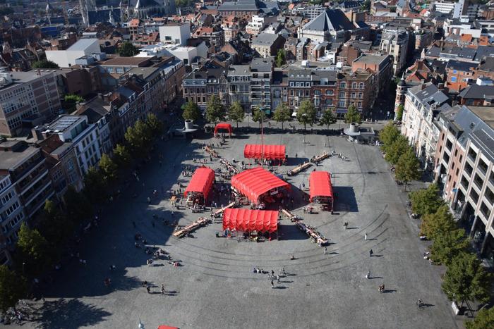 Leuven is klaar voor 500 jaar Utopia: openingsweekend groot succes met meer dan 6.000 bezoekers