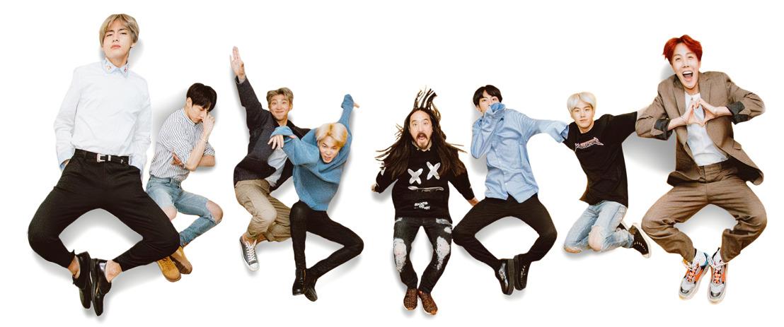 Steve Aokis neue Single mit den globalen Über-Stars BTS