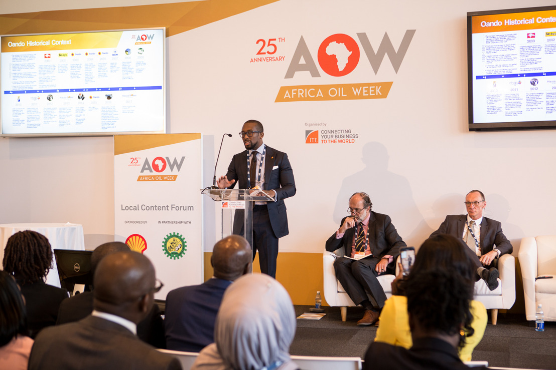 Africa Oil Week 2018 explores the financial opportunities in the African oil and gas market