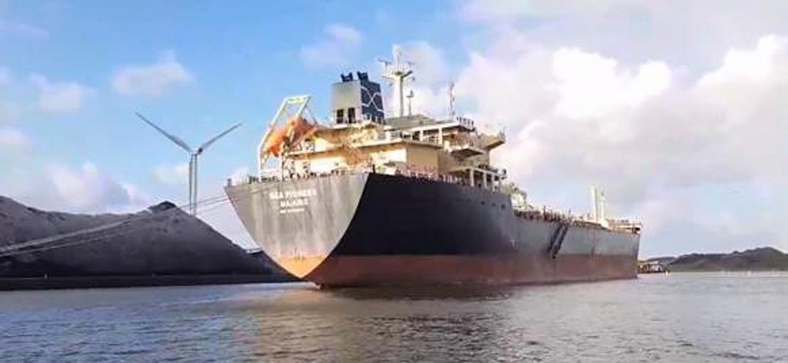 Bemannig Sea Pioneer krijgt gratis breedbandinternet van Port-WiFi
