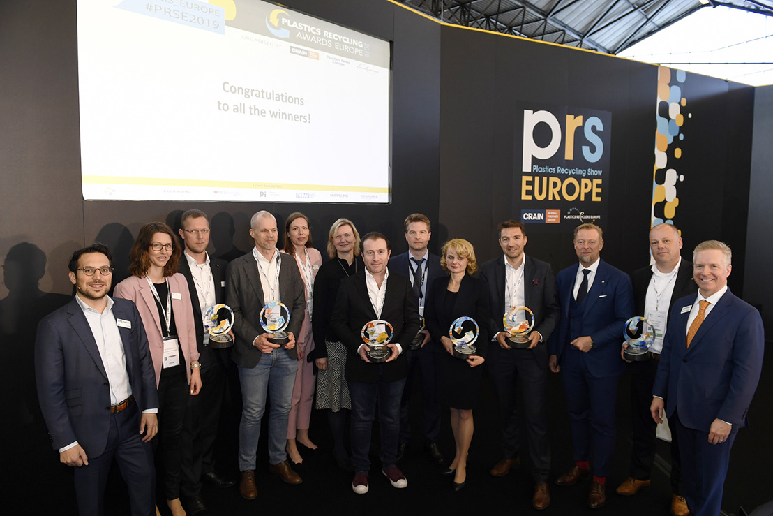 Seven Winners Announced at Plastics Recycling Show Europe 2019
