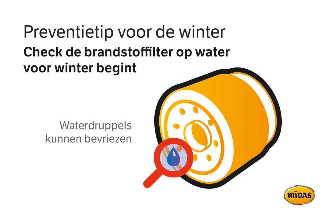Tip brandstoffilter