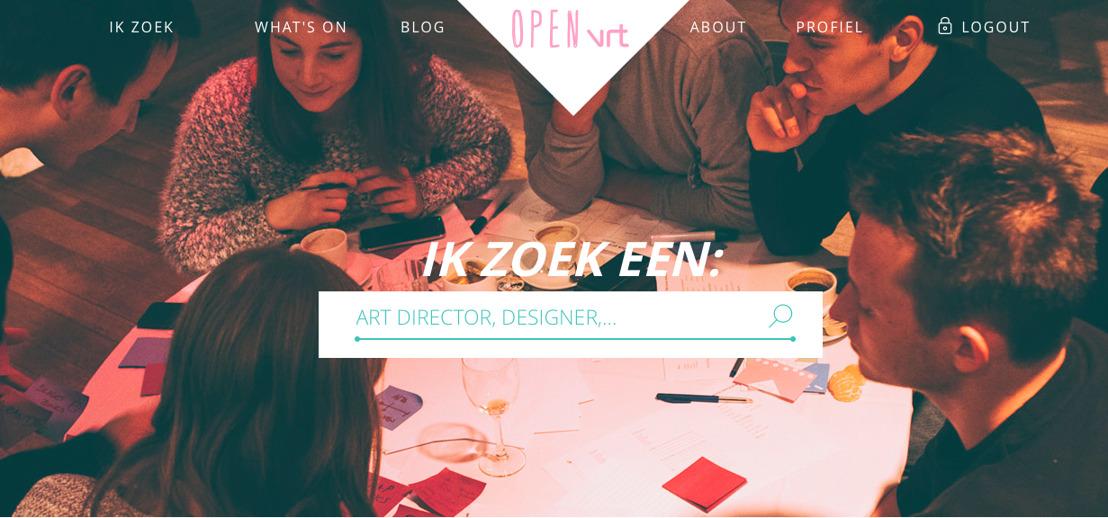 VRT lanceert openbare databank van jonge, creatief talent