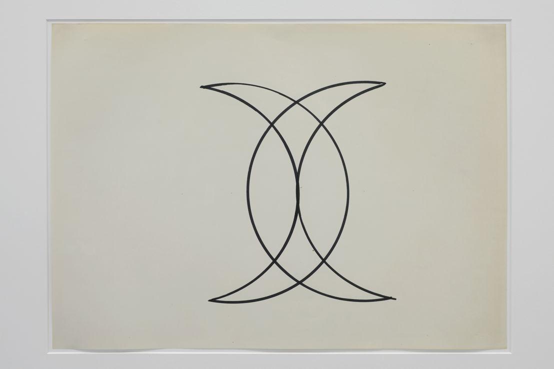 Zonder titel (Signature de Mahomet)   Courtesy Centre Pompidou, Paris<br/>Musée national d'art moderne / Centre de création<br/>industrielle , foto (c) Isabelle Arthuis