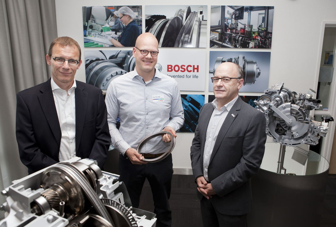 De la gauche à la droite: Patrick Incoletti, Han-Hein Spit, Peter De Troch
