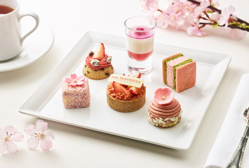 "Preview: THE PENINSULA TOKYO PRESENTA ""THE PENINSULA LOVES SAKURA"" QUE CELEBRA LA TEMPORADA DE FLORES DE CEREZO EN JAPÓN"
