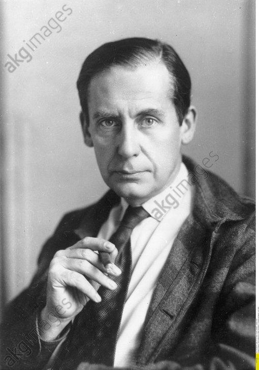 Gropius, Walter;<br/>German architect, co-founder of the Bauhaus School; photo c. 1933.<br/>AKG471858