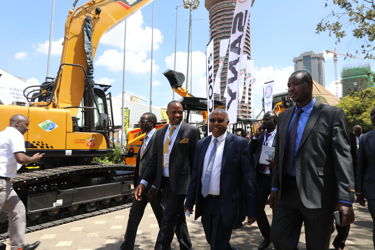 Opening day at The Big 5 Construct East Africa 2018
