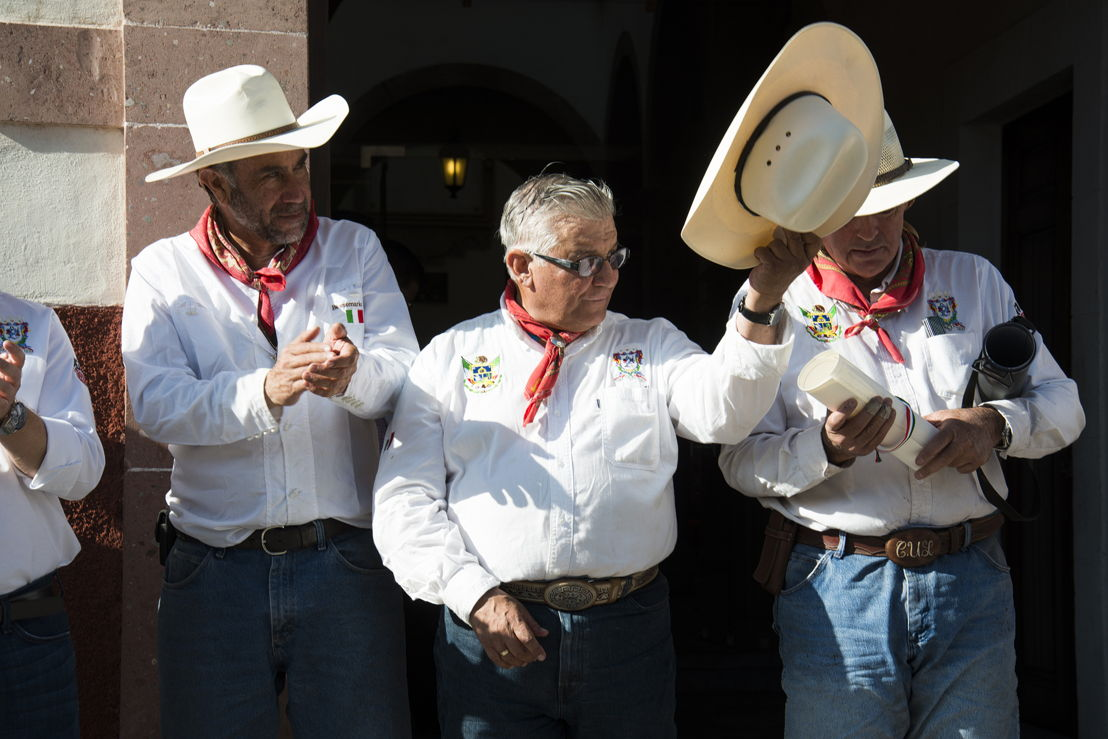 Jorge Cárdenas, Alejandro Mere y Gerardo Urquiza