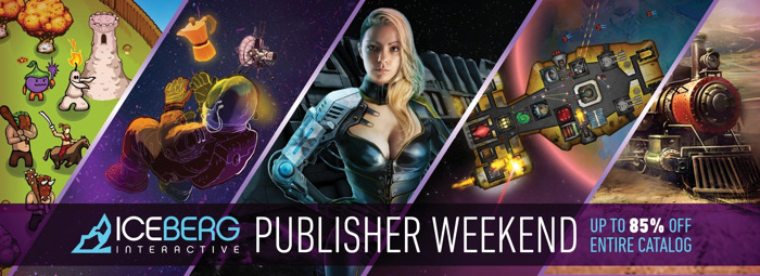 More than 40 PC Games on Sale Now During the Iceberg Interactive Publisher Weekend!