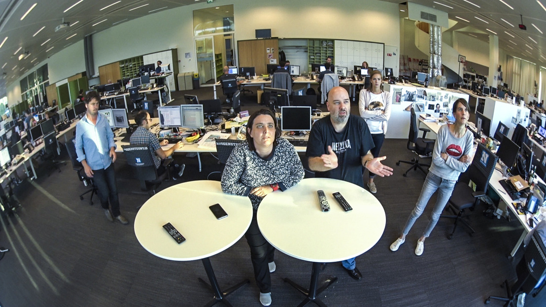 Nieuwsjagers: De strijd om het nieuws van een krantenredactie