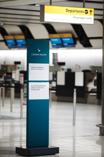 Cathay Pacific flight CX365 statement # Update 1