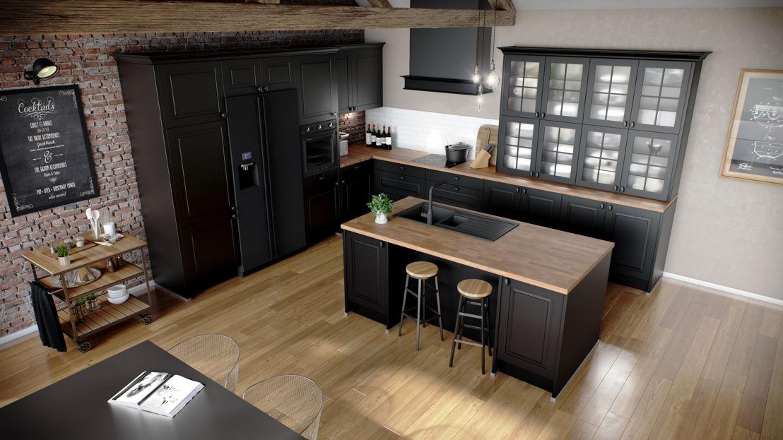 Keukeneiland: hout is nog steeds in (keuken 954) ©èggo