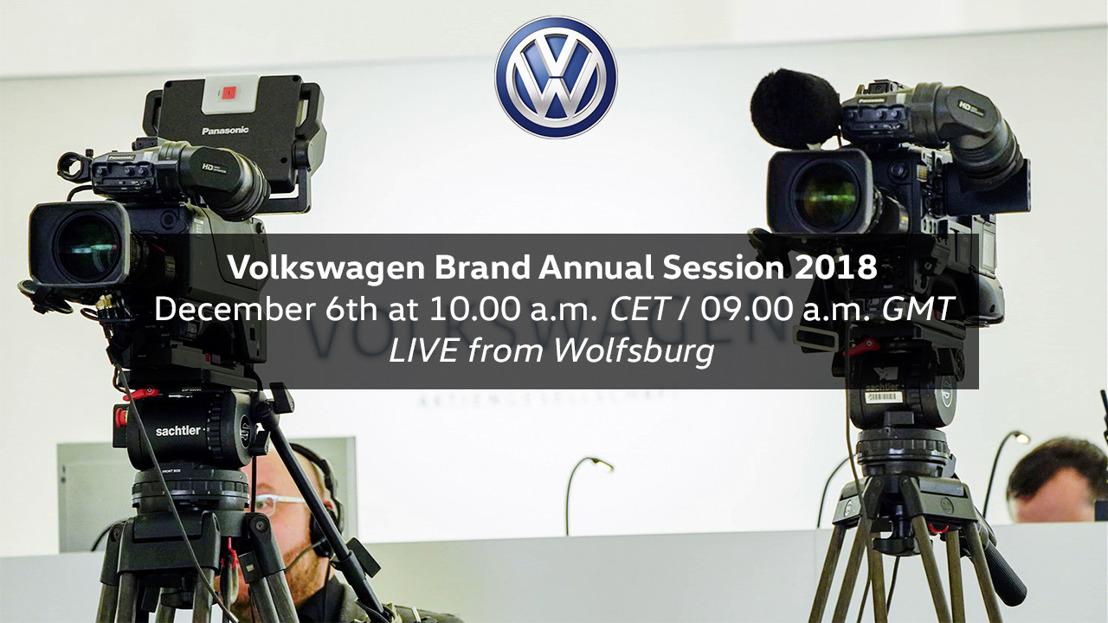 Sesión anual 2018 de la Marca Volkswagen