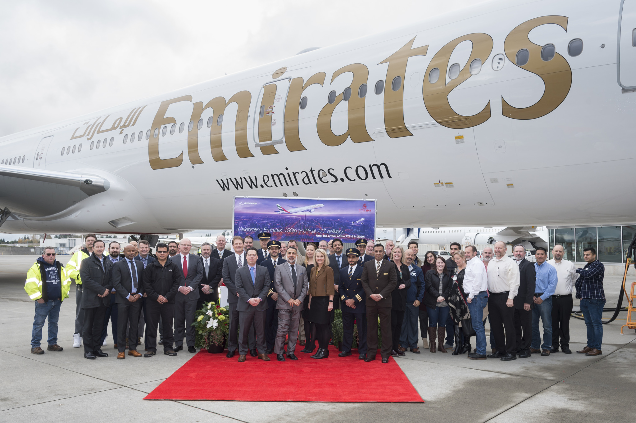 Emirates Takes Delivery Of Its Last Boeing 777 300er Aircraft