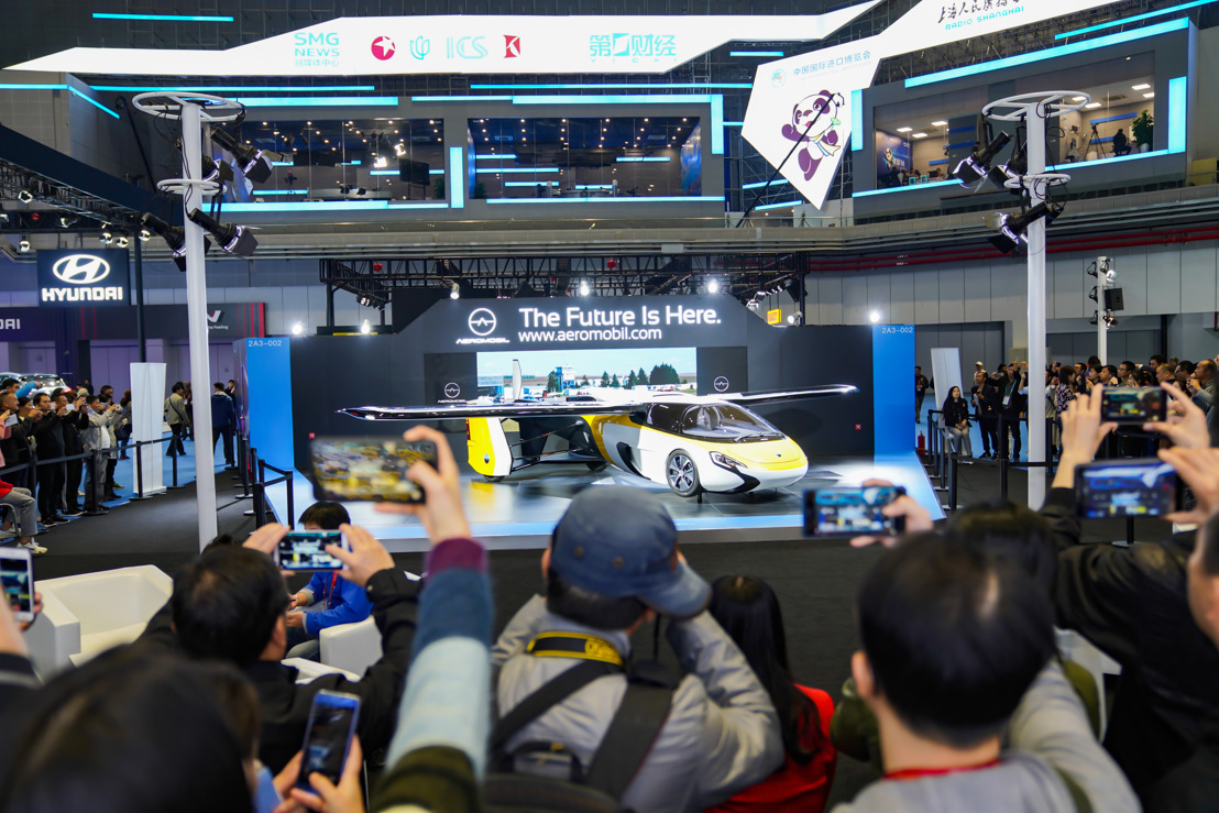 AeroMobil and Baoneng Motor have signed Strategic Cooperation Agreement at China International Import Expo