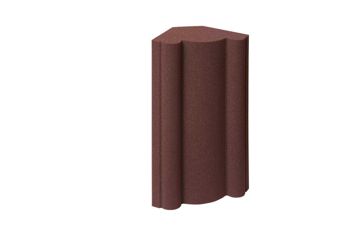 EZ Acoustics ProCorner in color Garnet.